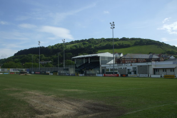 Park Avenue, home of Aberystwyth Town